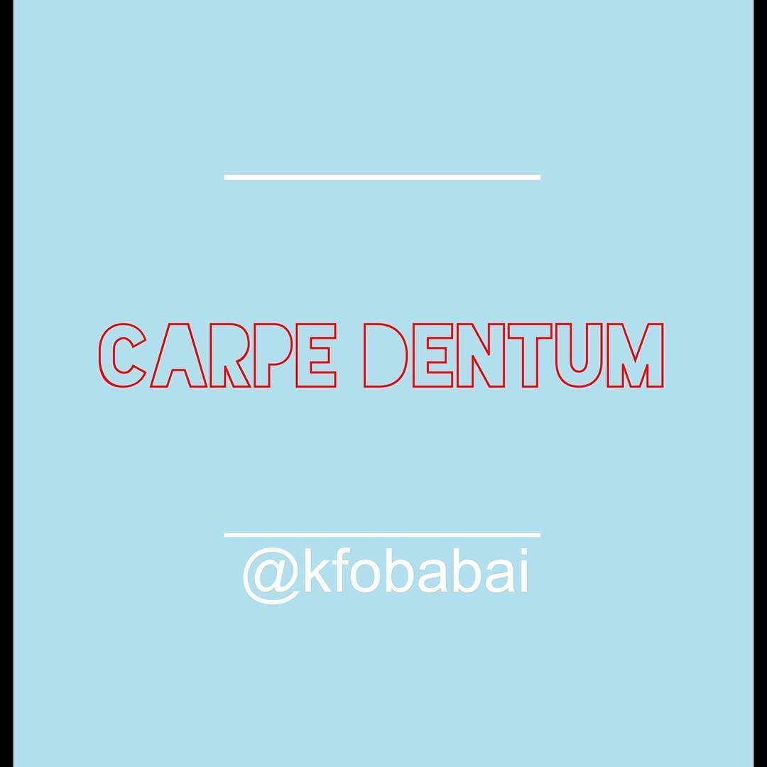 Carpe Dentum Seize The Teeth Quote