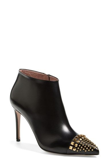 01d56fec861 Free shipping and returns on Gucci  Coline  Studded Cap Toe Bootie (Women)