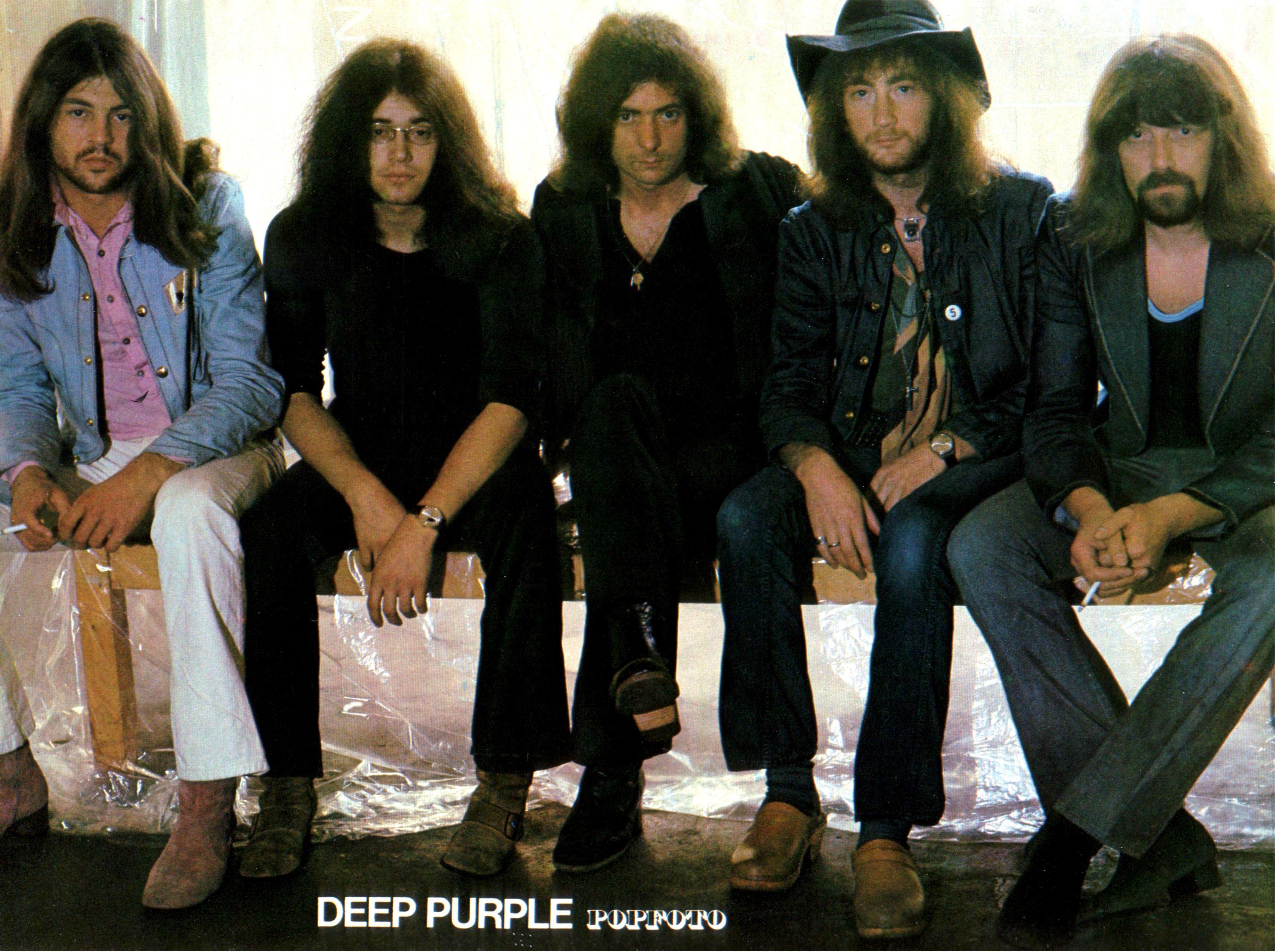 Deep Purple. POPFOTO(Germany). 1971 | Deep purple, Jon lord, Roger glover