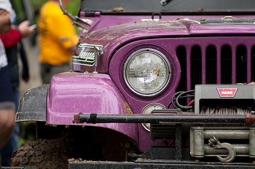 Purple Monster by codecarnage, via Flickr
