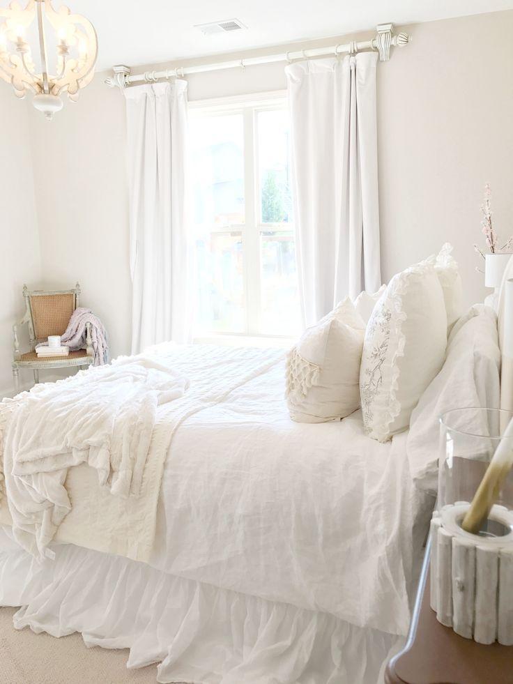 Bright White Bedroom: Bright White Home Of Megan Manton