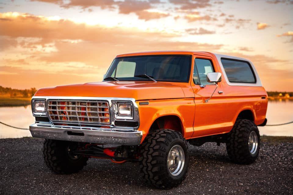1979 Ford Bronco Orangecrush 1979 Ford Bronco Classic Ford