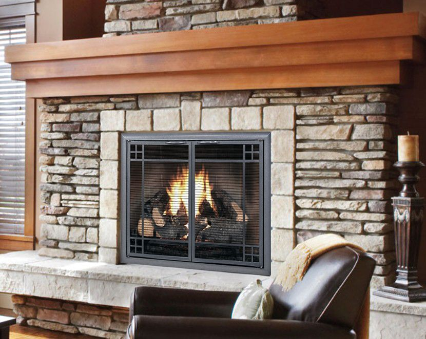 Design specialties provides a beautiful solution making sure your design specialties provides a beautiful solution making sure your fire is safely contained with a custom glass fireplace doorsdirect planetlyrics Gallery