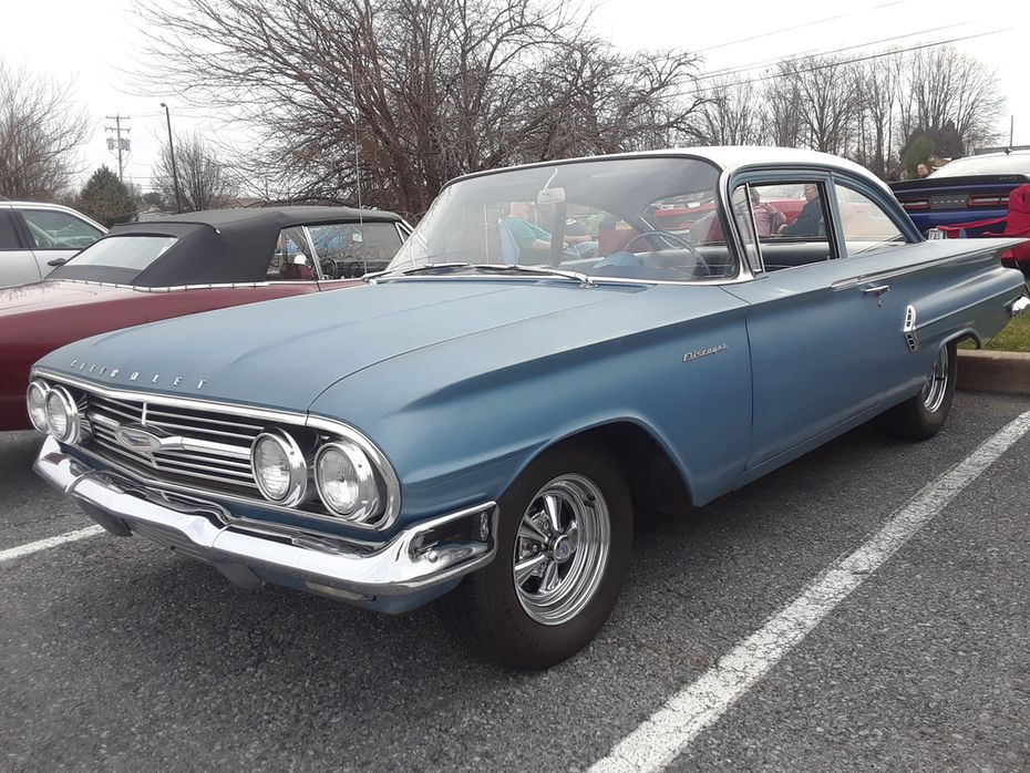 Country Cruisers Of Lebanon County April 2019 1960 Chevy Biscayne