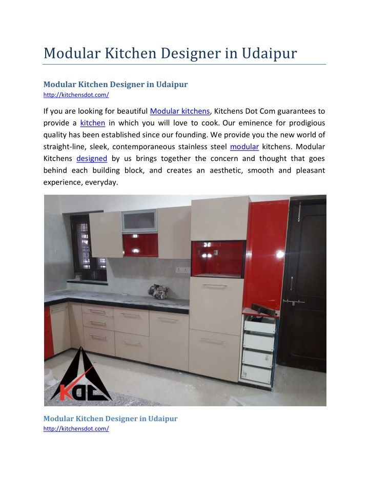 Modular Kitchen Designer In Udaipur  Udaipur Extraordinary Straight Line Kitchen Designs Design Inspiration
