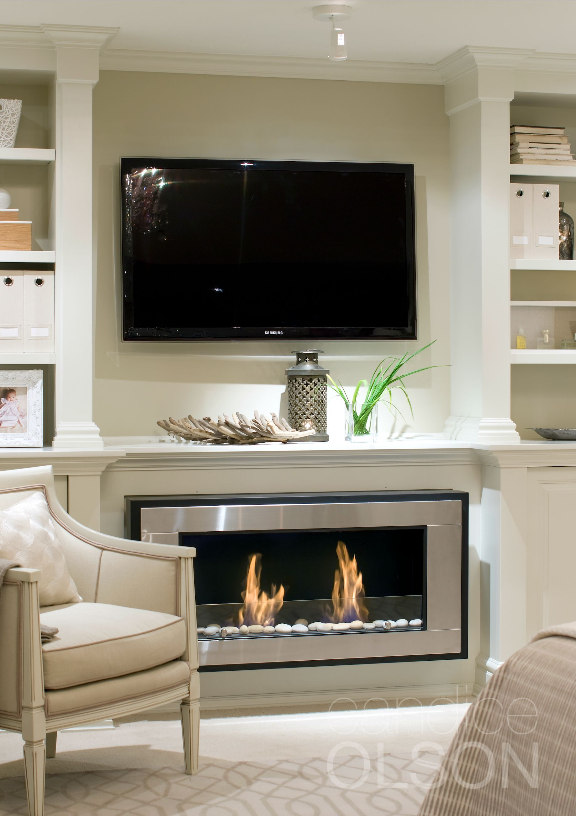 Candice Olson Living Room Furniture: Fireplace Designed By Candice Olson Design Inc