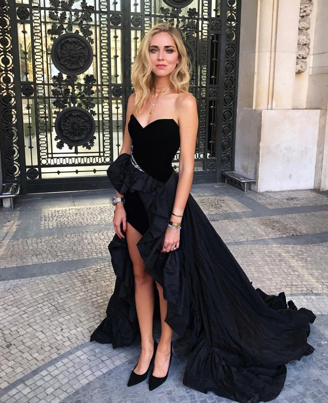 Chiara Ferragni In Alexandre Vauthier Dress F A S H I O N