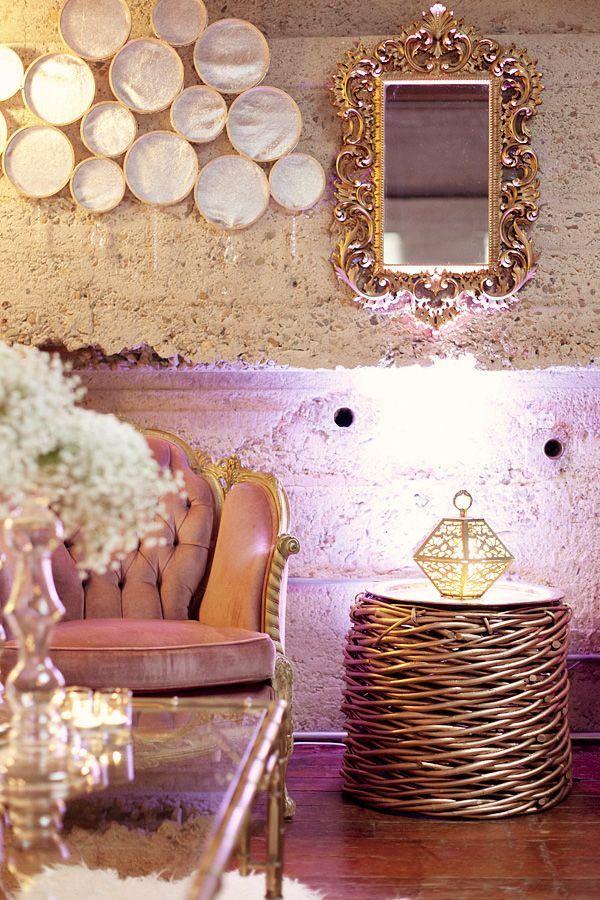 Isari Flower Studio Event Design Gold Room Decor Living Room