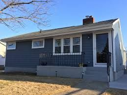 Image Result For Dark Blue Ranch House With White Trim Blue