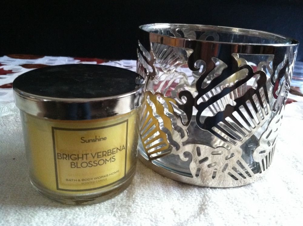 Bath and Body Works/Slatkin & Co. 14 oz Candle Sleeve w ...
