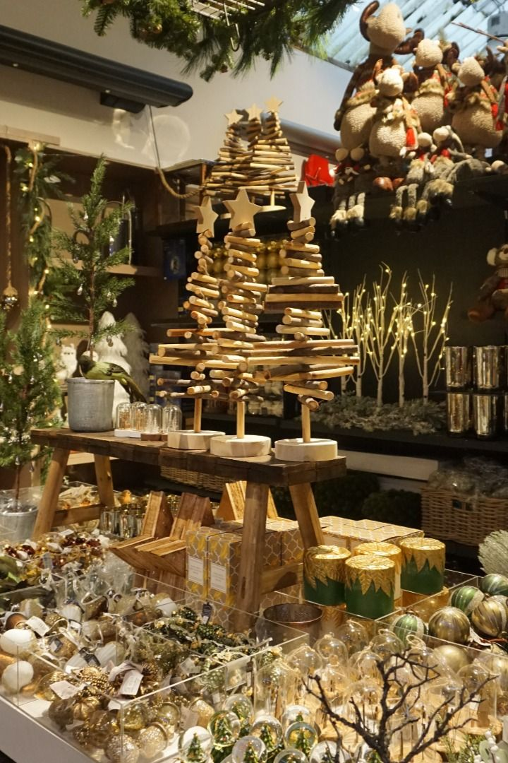 "Our Christmas Elves finished another part of our Xmas shop decor! What do you think?   The theme of this decor is ""Embrace the nature"" and it is perfect for nature lovers. The rich, earthy tones and natural accents can be found in collection of baubles and hanging ornaments. This theme is perfect to create cosy Christmassy interior with outdoor feeling.  #christmasshop #rusticchristmasdecor #naturalchristmas #naturalchristmasdecor"