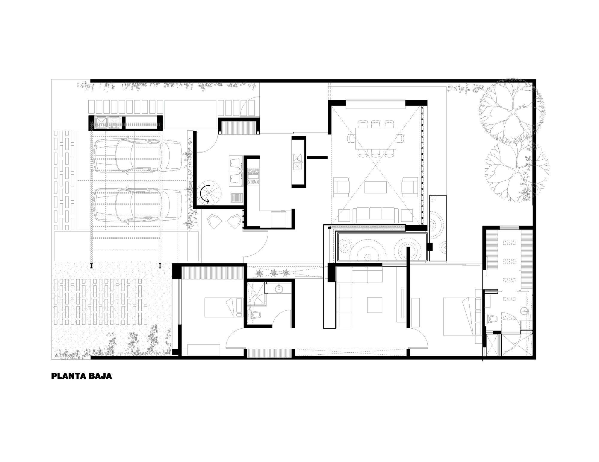 T02 / ADI Arquitectura y Diseño Interior | Planta baja, Bajos y Plantas