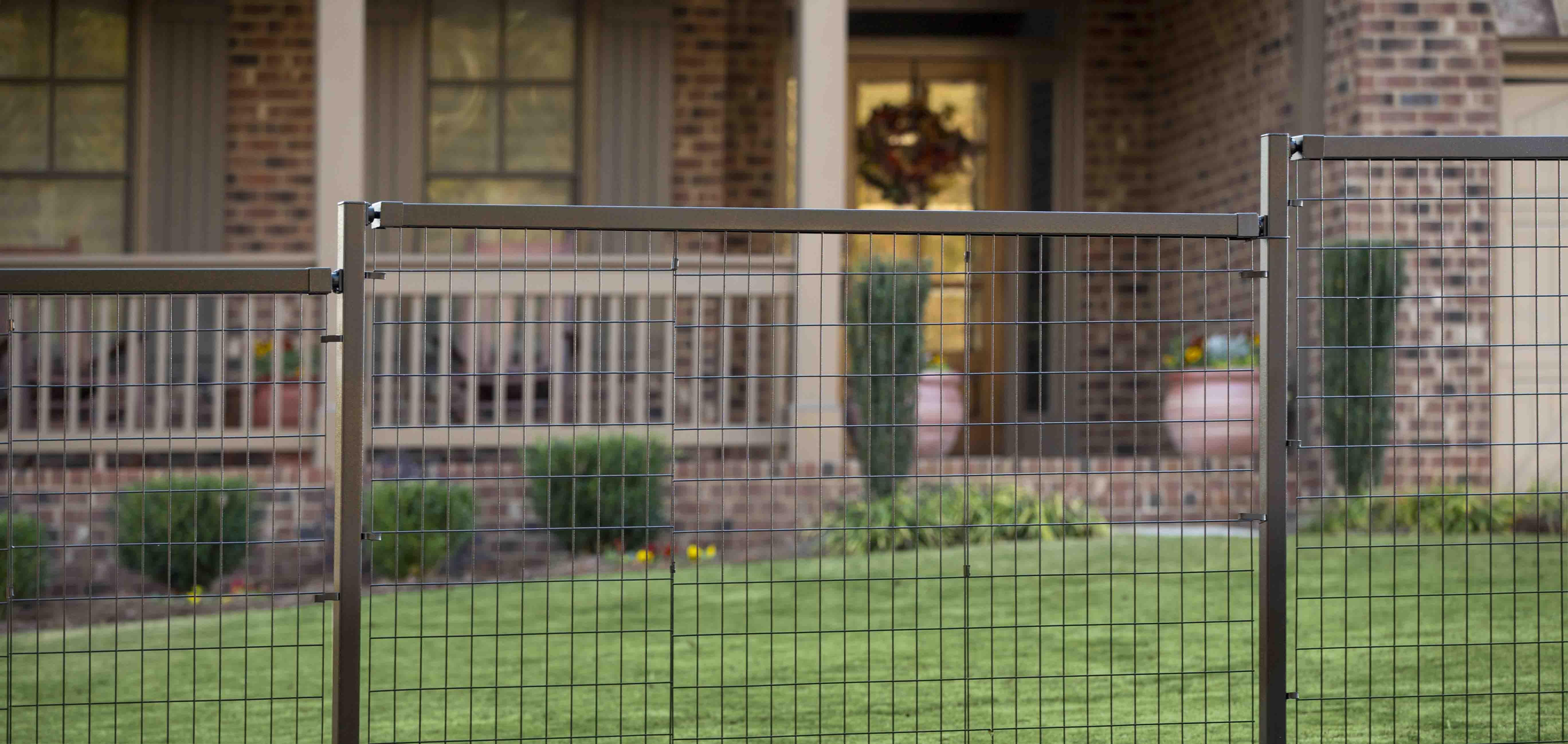 yard gard select decorative steel fencing | yard gard select