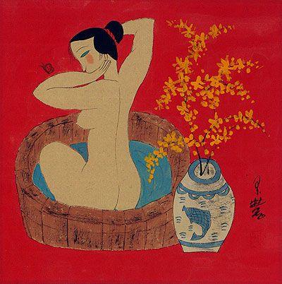 Lady In The Bath