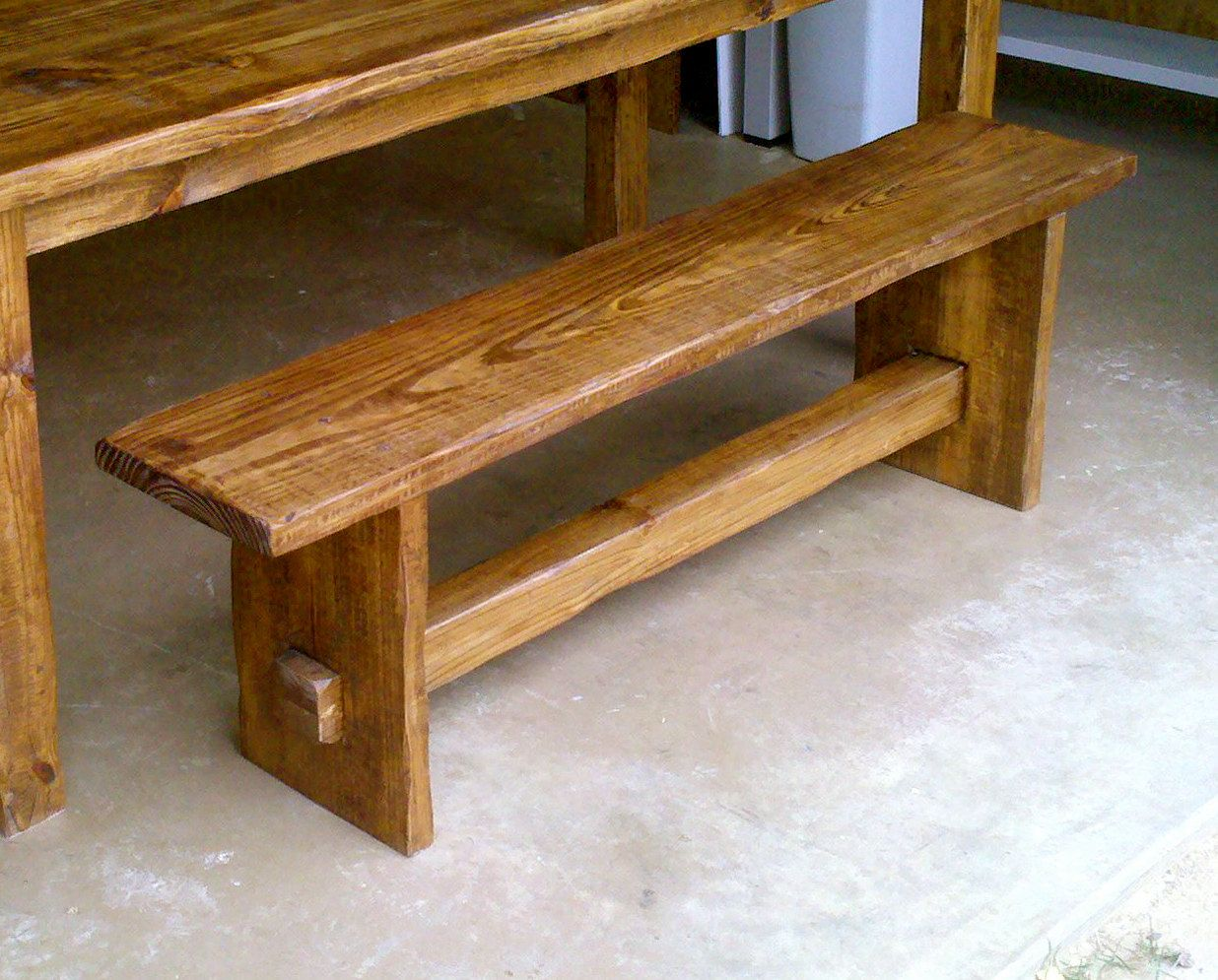 """rustic bench. $145.00, via Etsy.   58"""" long  11"""" wide  19"""" tall   plus 70 ship for $215."""