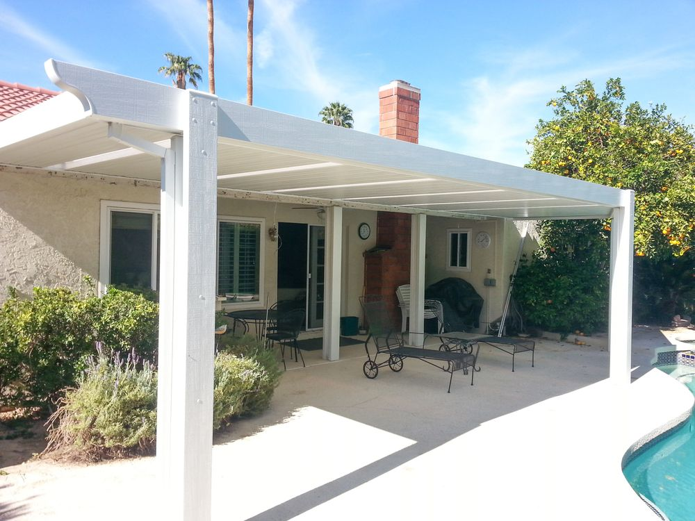 Solid Roof Patio Covers Indio La Quinta Palm Desert Rancho