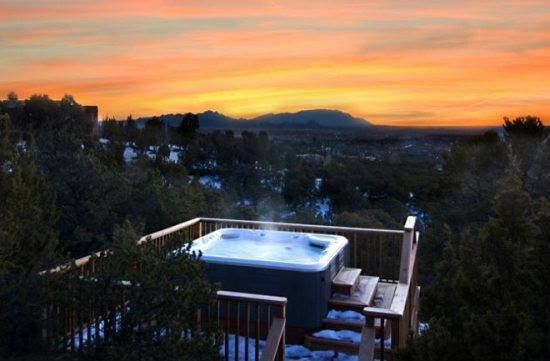 Thinking about doing something special for Thanksgiving?  Well this Holiday, stay at this Santa Fe luxury rental and we'll provide the turkey and the ham!   One week minimum stay required. This home sleeps up to 12 guests. The hot tub is the bonus! We can't guarantee snow but we can provide the best in service for your holiday visit. Call today: 855-I-RENT-SF  *New reservations only.