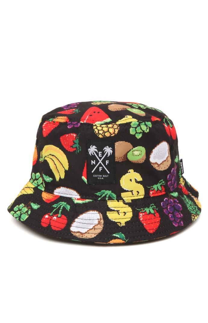 37d273cd105 Neff Hard Fruit Bucket Hat