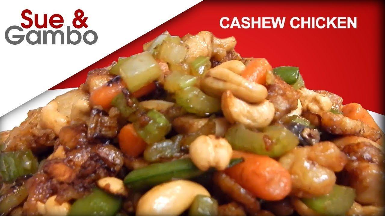 Chinese chicken cashew nuts stir fry recipe youtube