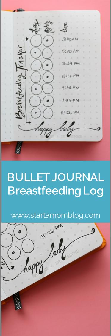 Photo of #breastfeeding #journal #tracker #bullet #ideas #log