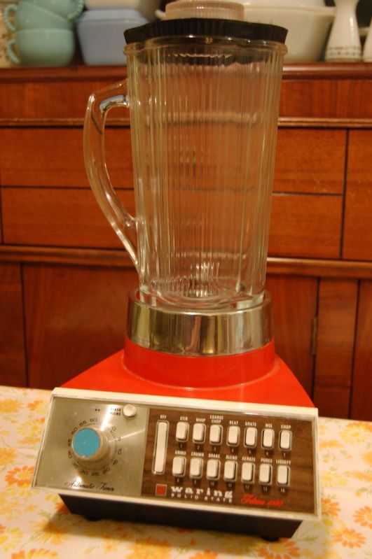 Vintage 60 39 s blender this looks like the one my parents - Electrodomesticos retro ...