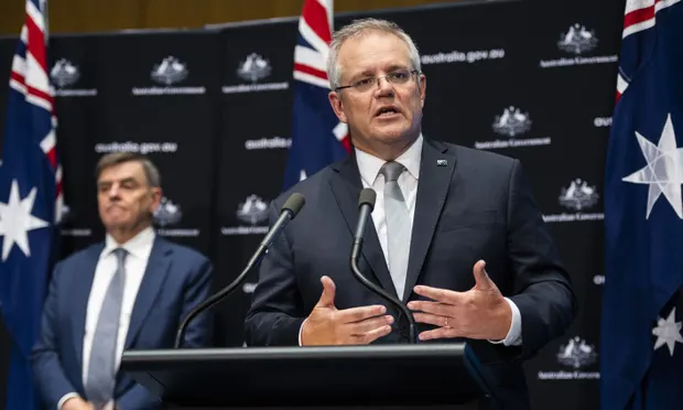 Morrison says 'early mark' of eased restrictions depends