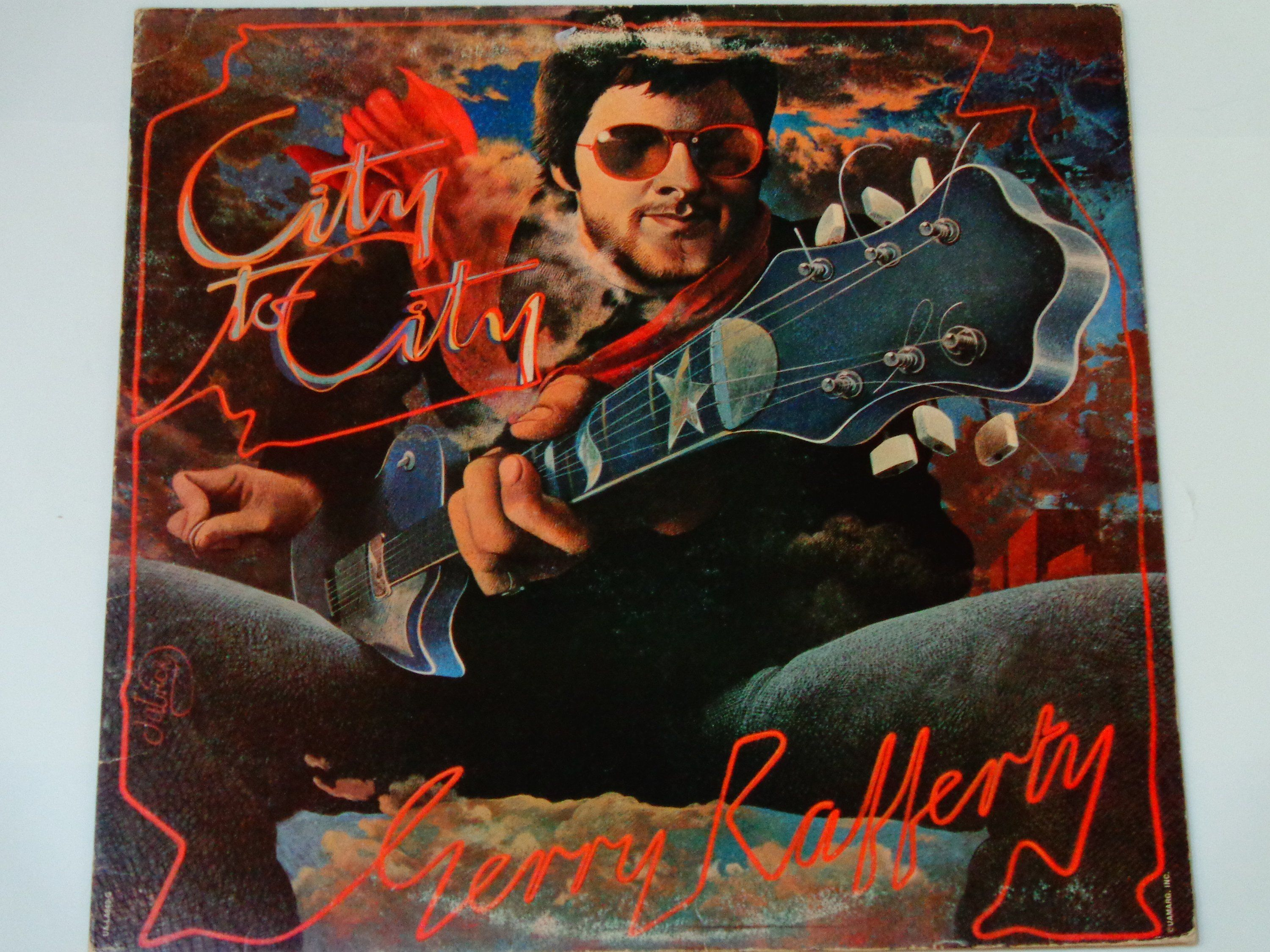 Gerry Rafferty City To City Baker Street Home And Dry Right Down The Line Soft Rock Ua 1978 Vintage Vin Gerry Rafferty Ukulele Trending Songs