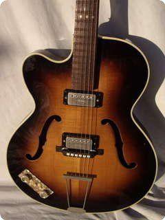 Hofner Senator Lefty 1960 Sunburst Vintage Guitar Guitar Archtop Guitar Learn Guitar