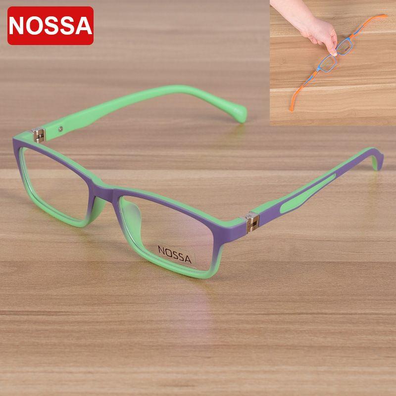 8834fc0bfef NOSSA High Quality TR90 Children Optical Frame Eyewear Eyeglasses Girls Boys  Kids Myopia Glasses Frames Kids Eyeglasses Frame