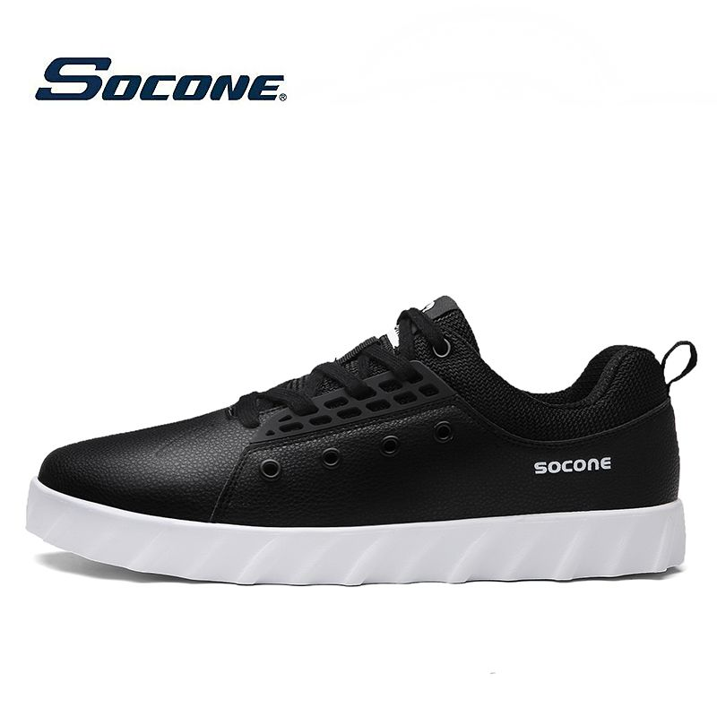New design SOCONE brand mens board shoes skateboarding Shoes low upper girls  sport shoes wholesale 9835