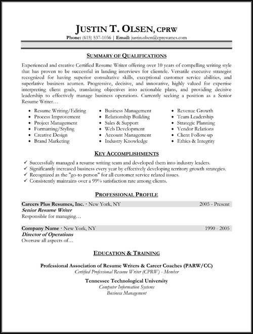 Targeted Resume Format Work Pinterest Resume format - examples of resume formats
