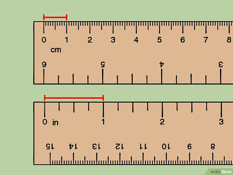 How To Convert Centimeters To Inches 3 Steps With Pictures Metric Conversion Chart Cm To Inches Conversion Converting Metric Units