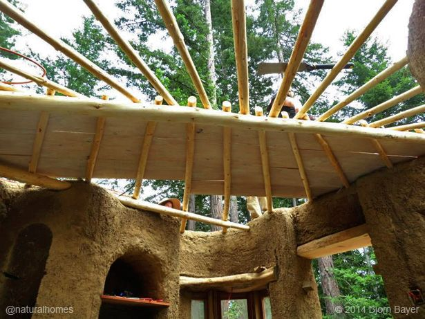 How to build a cob cottage: 9 major steps.