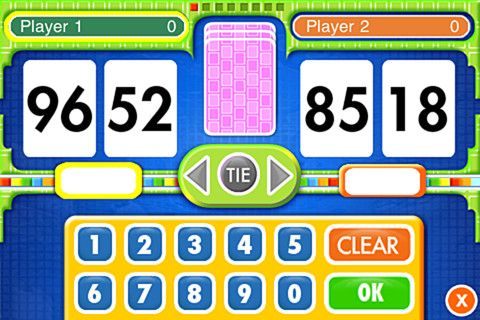 Everyday Mathematics Subtraction Top It 1 99 Players Take