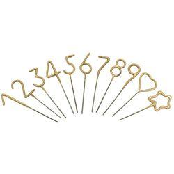 Mini Gold Sparklers 4 TOPS Malibu Number JSPKM