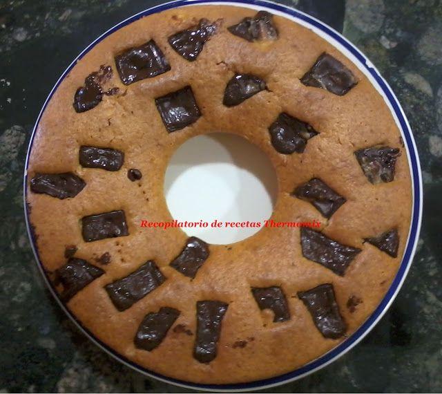 Recopilatorio de recetas : Bizcocho de naranja y chocolate Thermomix