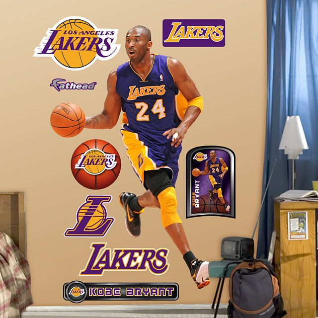 Fathead Kobe Bryant No 24 Wall Sticker Outlet Nba