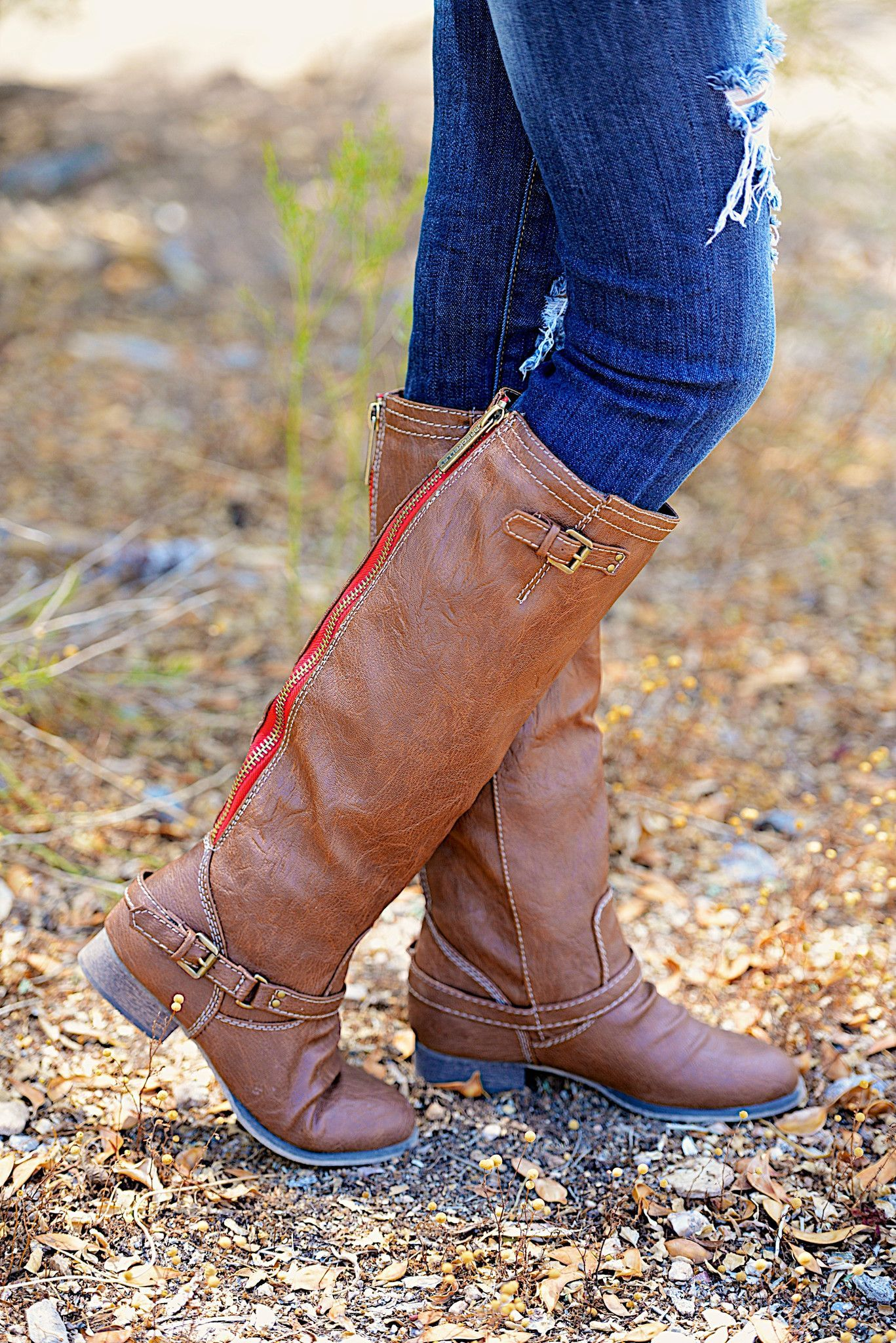 "To Die For Tan Boots from Closet Candy Boutique - Promo code ""repashley"" for 10% OFF + FREE shipping!"
