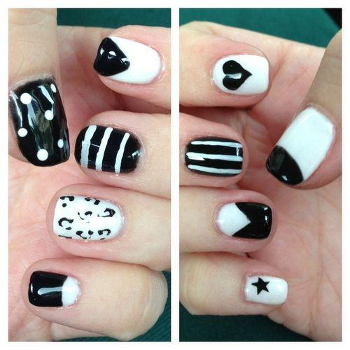White Nail Designs Pinterest | Nail Art | Pinterest | Nail design ...