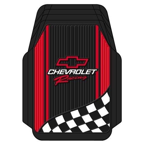 Chevy Floor Mat Car Truck Auto Suv Racing Flag Front Set Mud Snow