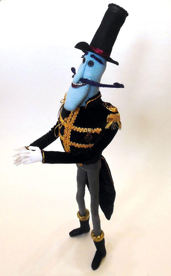 Mr Bobinsky Plush Toy Coraline Etsy Plush Toy Plush Coraline