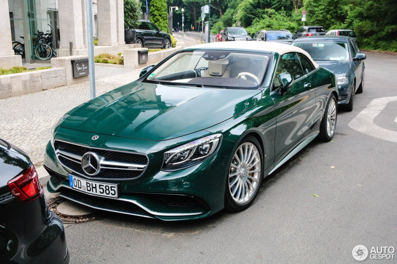 Mercedes Amg S 63 Convertible A217 In 2020 Droomauto S