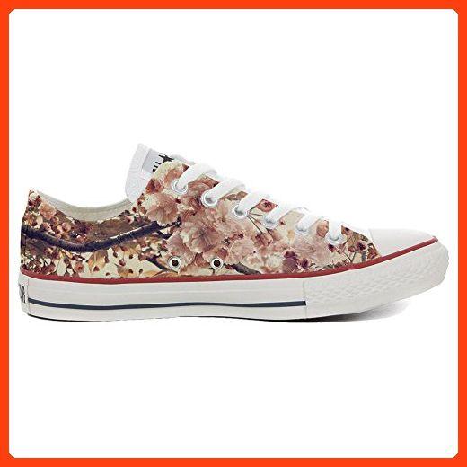 Converse All Star Hi Customized personalisierte Schuhe (Handwerk Schuhe) Autumn Texture