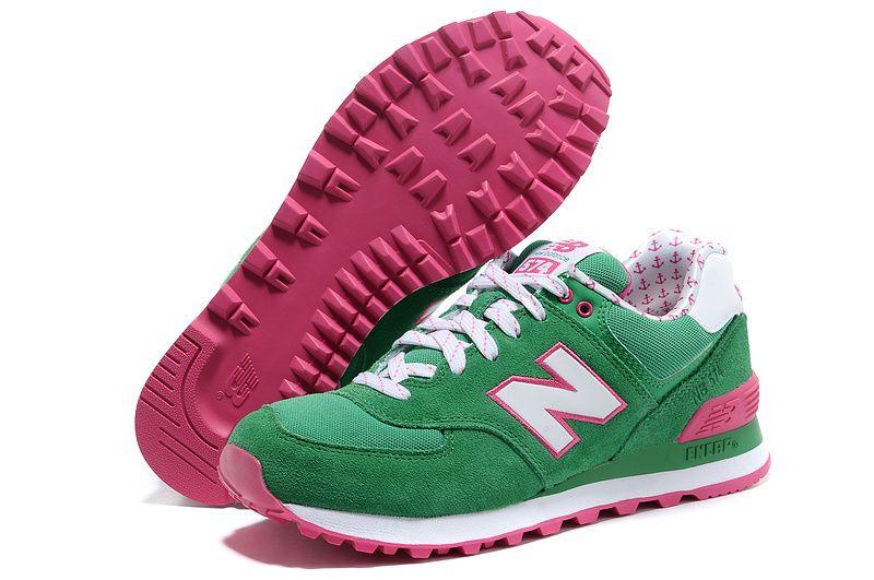 new balance 574 womens pink