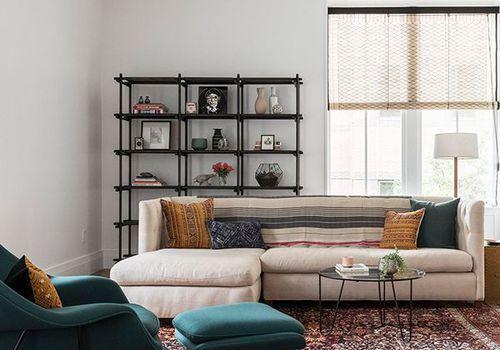 Elizabeth Roberts Design—Narrow Room Layouts in 2020 ...