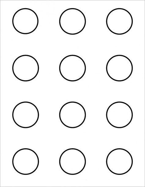 7 Printable Macaron Templates Pdf Doc Macaron Template
