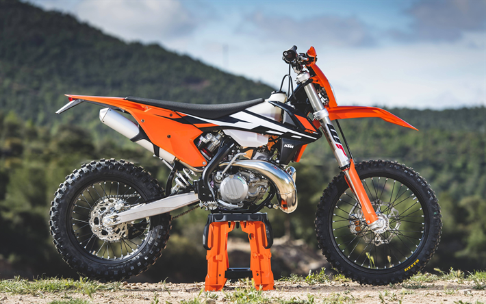 Download Wallpapers Ktm 300 Exc 4k 2018 Bikes Extreme Superbikes