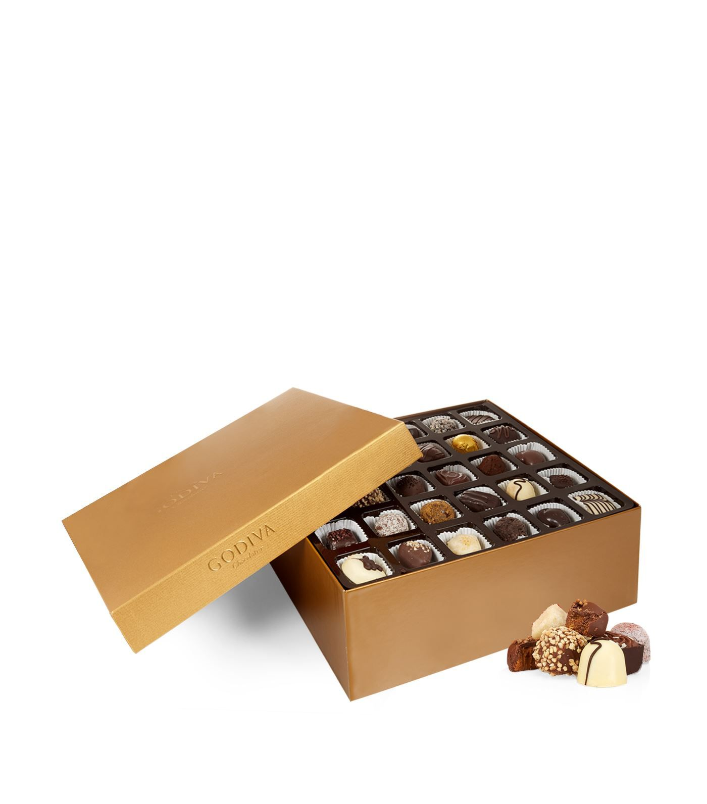 120 Piece Gold Assorted Chocolate Box 14kg Fashion Home