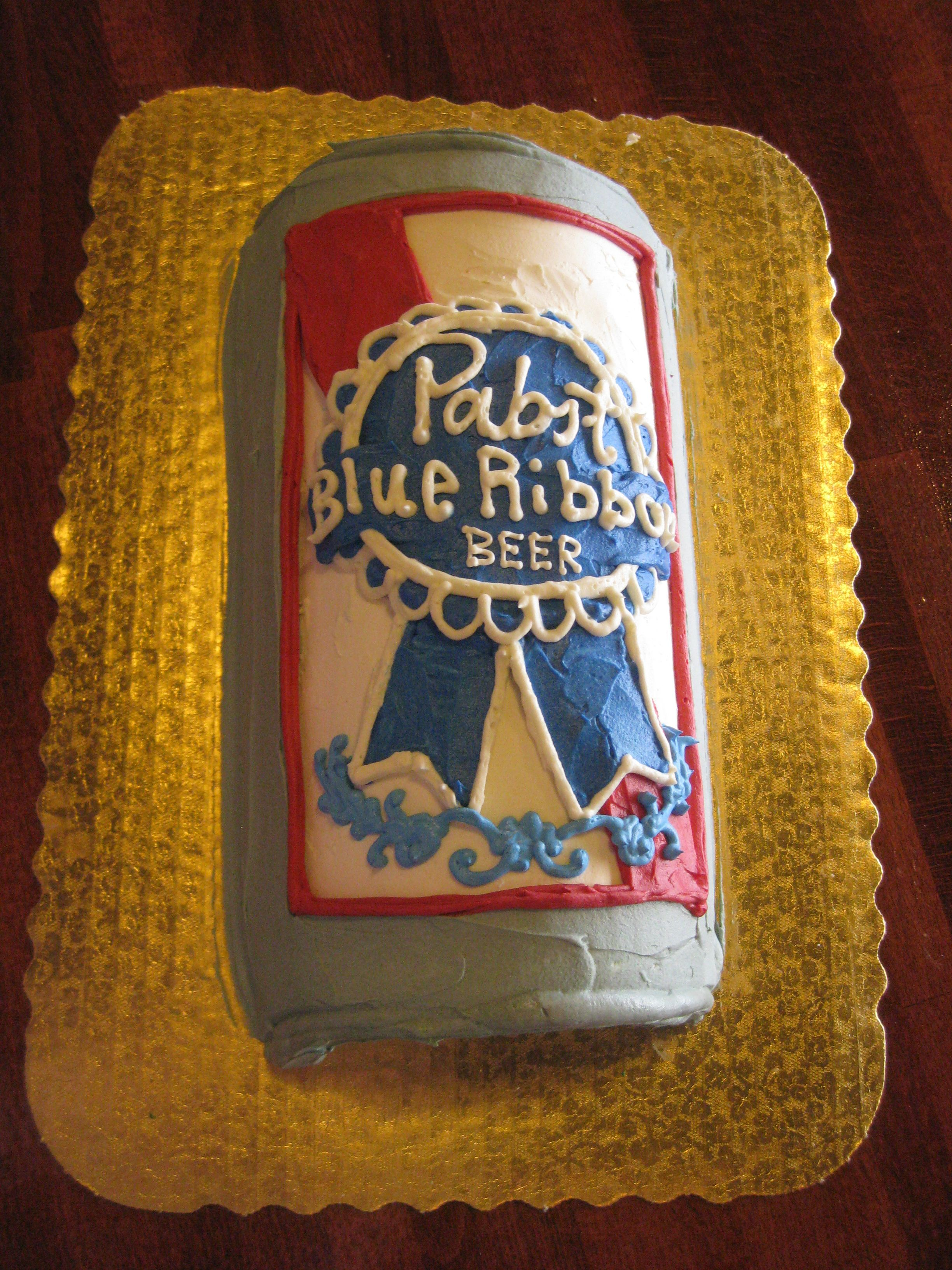 Pabst Blue Ribbon Cake by 2tarts Bakery New Braunfels, TX ...