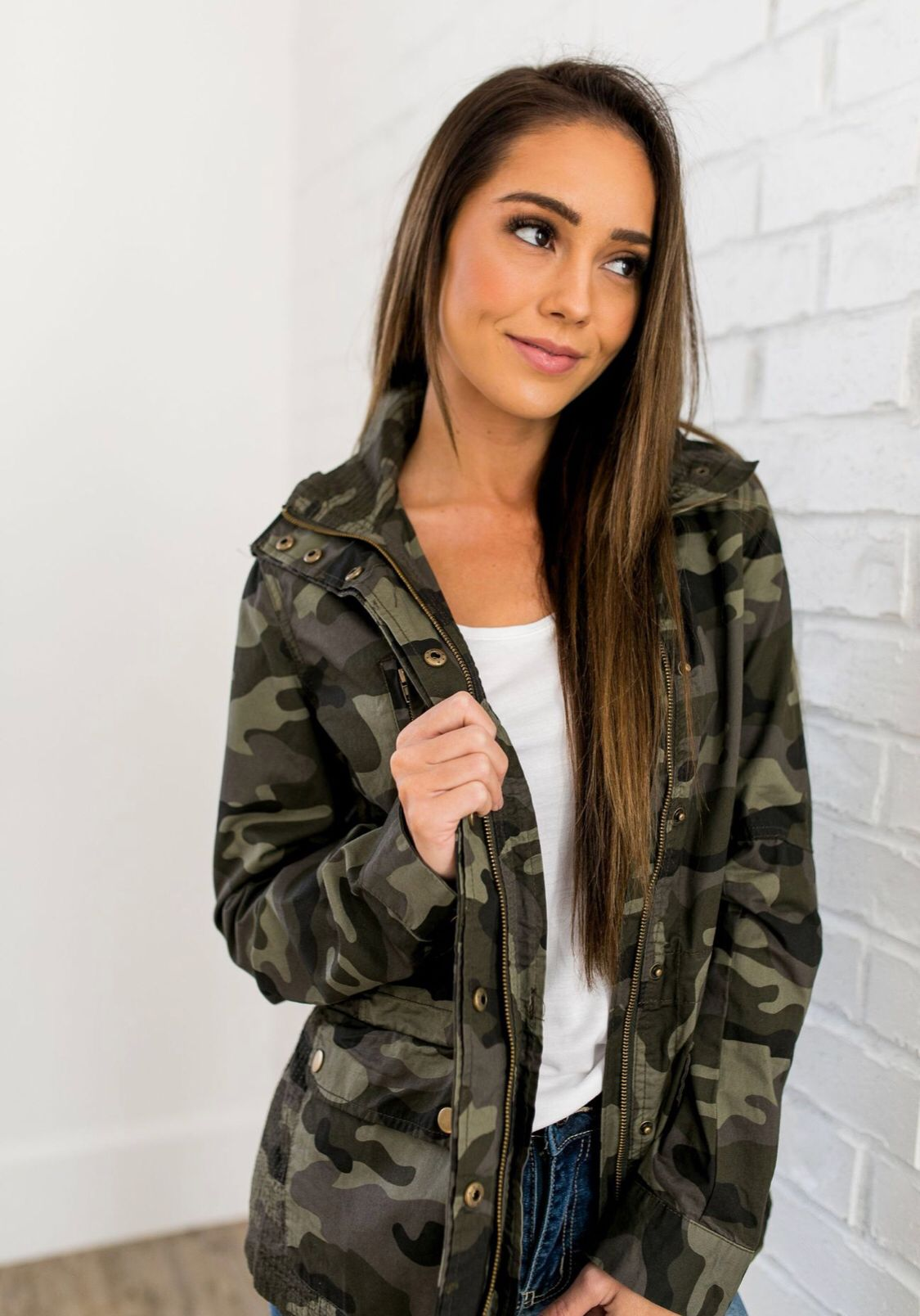 You Can Do Anything Camouflage Jacket Camouflage Jacket Camo Jacket Women Camoflauge Jacket [ 1608 x 1125 Pixel ]